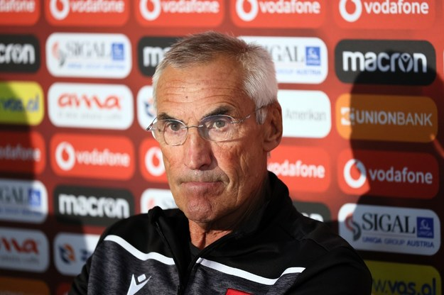 Trener piłkarskiej reprezentacji Albanii Edoardo Reja / Leszek Szymański    /PAP