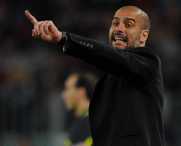 Trener piłkarzy Barcelony Josep Guardiola /AFP