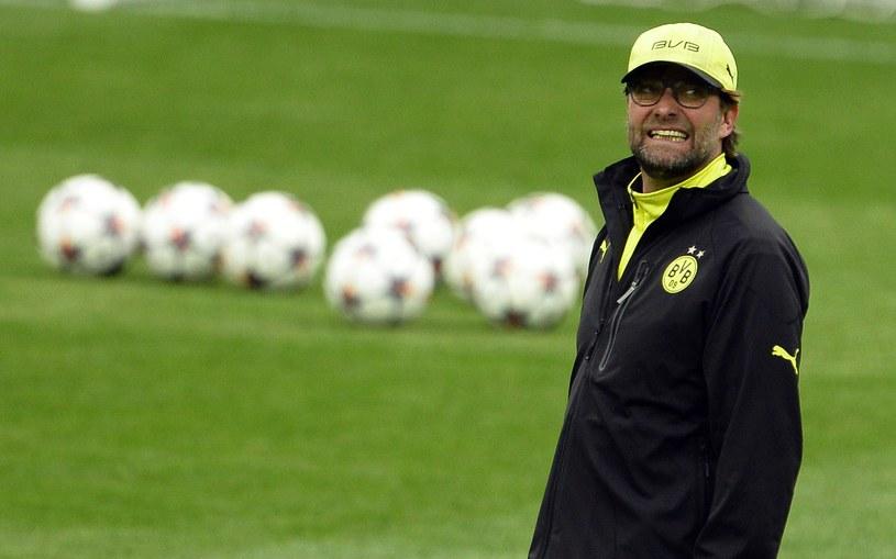 Trener piłkarzy Borussii Dortmund Juergen Klopp /AFP