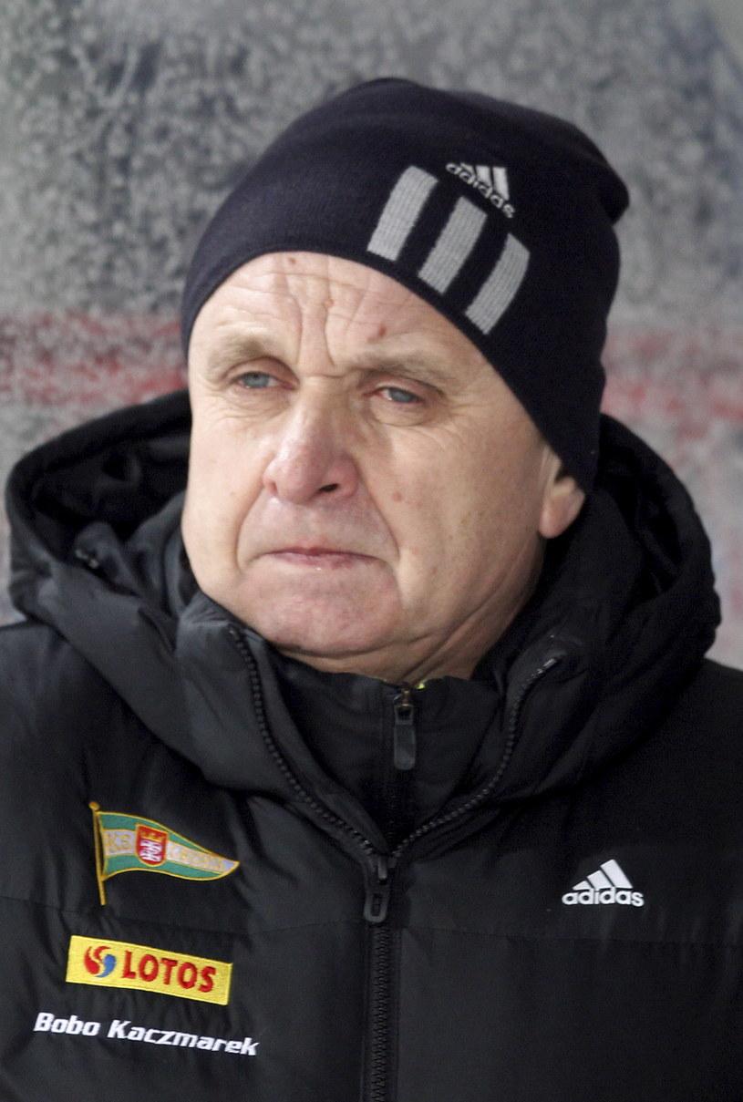 Trener piłkarzy Lechii Gdańsk Bogusław Kaczmarek /PAP