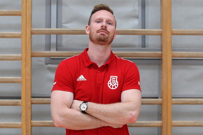 Trener Piotr Renkiel /Marcin Szymczyk /Newspix