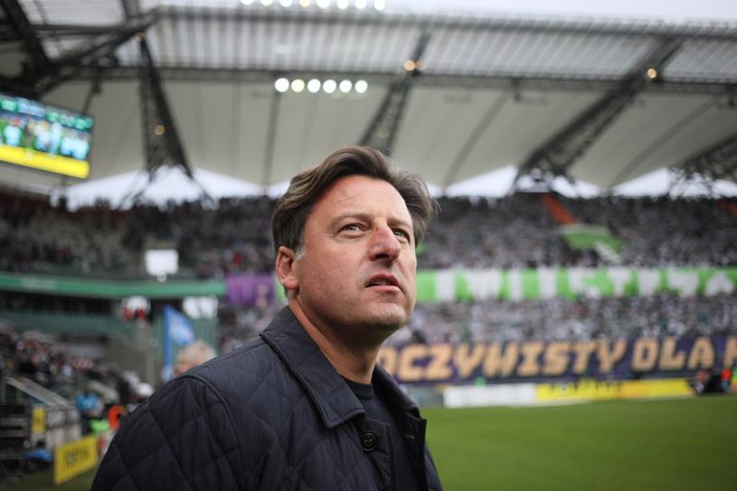Trener Pogoni Szczecin Kosta Runjaić / Leszek Szymański    /PAP