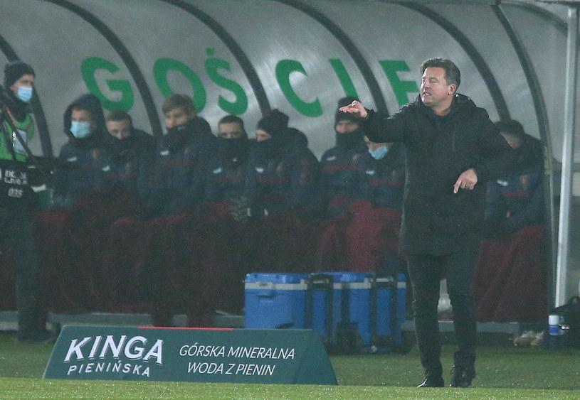Trener Pogoni Szczecin Kosta Runjaić / Andrzej Grygiel    /PAP