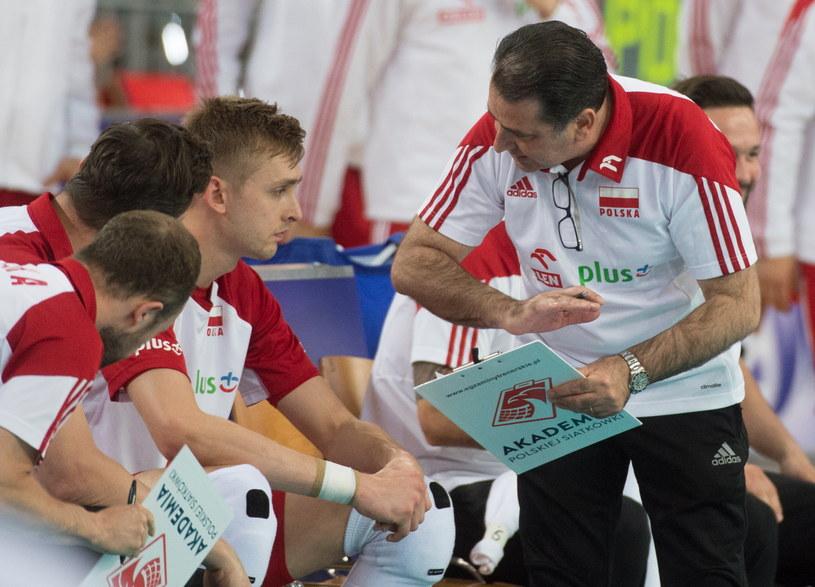 Trener Polaków Ferdinando De Giorgi /Grzegorz Michałowski /PAP