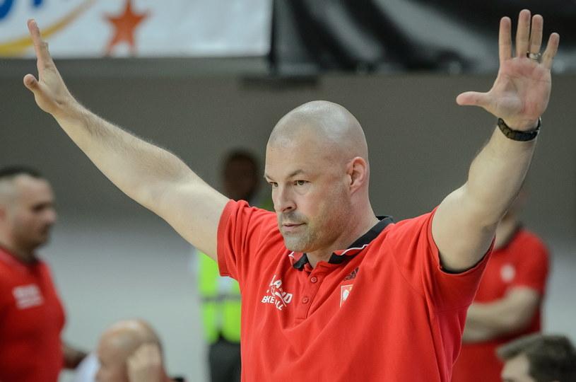 Trener Polaków Mike Taylor /Wojciech Pacewicz /PAP