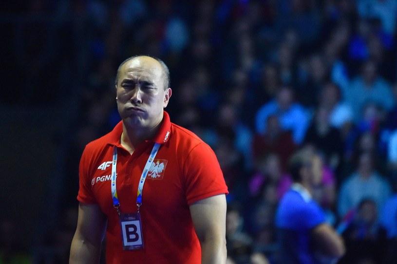 Trener Polaków Tałant Dujszebajew /AFP