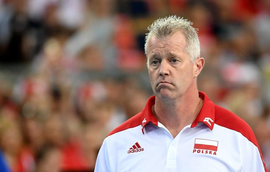 Trener Polaków Vital Heynen /Grzegorz Michałowski   /PAP