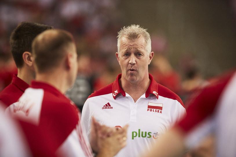 Trener Polaków Vital Heynen /fivb /materiały prasowe