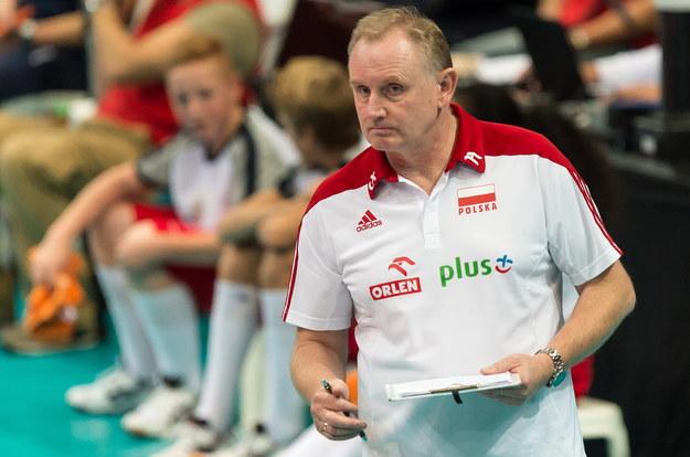 Trener Polek Jacek Nawrocki /Maciej Kulczyński /PAP
