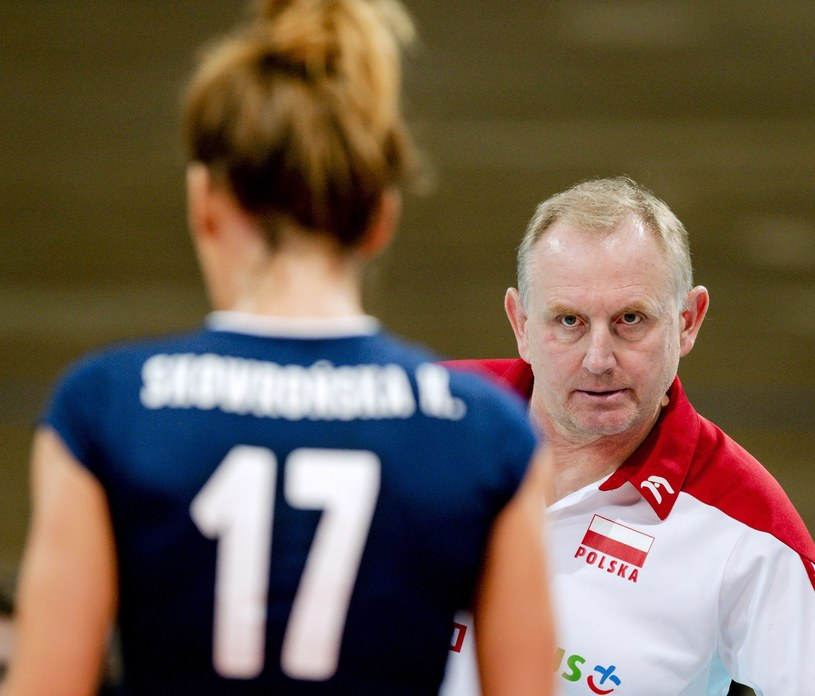 Trener Polek, Jacek Nawrocki /AFP