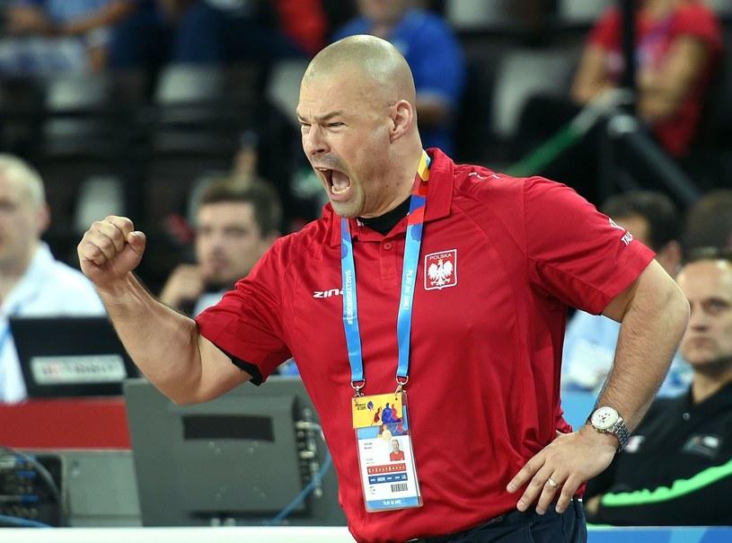 Trener polskich koszykarzy Mike Taylor /AFP