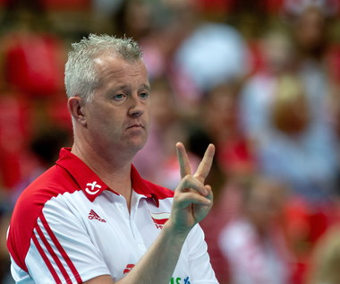 Trener polskich siatkarzy: Nie spodziewałem się, że możemy zagrać tak dobrze