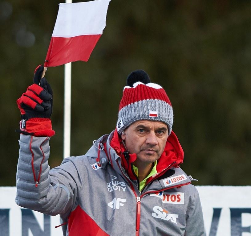 Trener polskich skoczków Stefan Horngacher /Łukasz Szeląg /East News