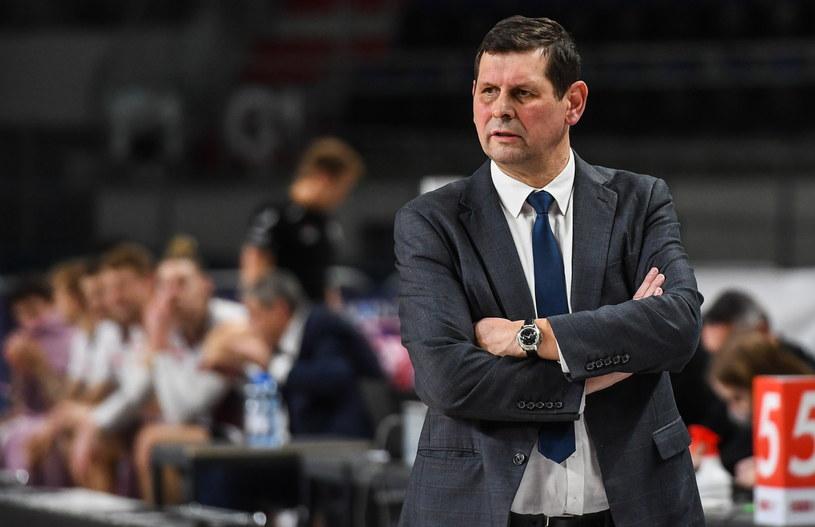 Trener Polskiego Cukru Toruń Jarosław Zawadka /Paweł Skraba /PAP