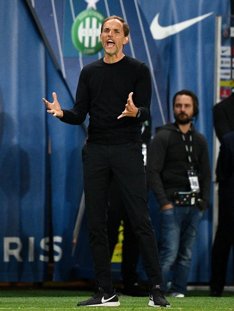 Trener PSG Thomas Tuchel /AFP