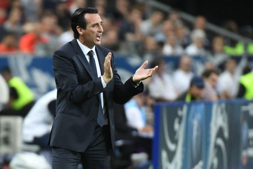 Trener PSG - Unai Emery /AFP