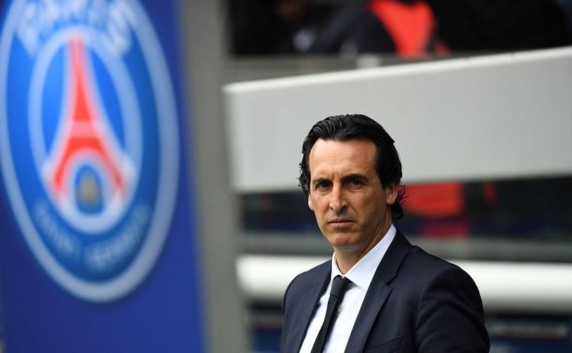Trener PSG Unai Emery /AFP