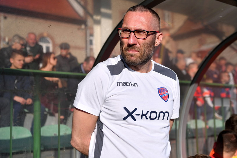 Trener Rakowa Częstochowa Marek Papszun /Marcin Gadomski /PAP