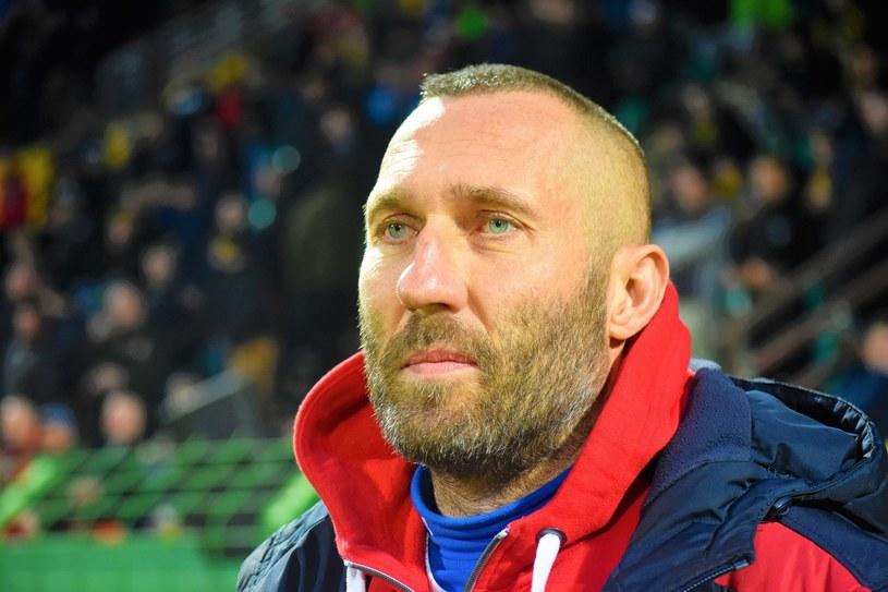 Trener Rakowa Częstochowa Marek Papszun /Fot. Daniel Bodzenta /East News