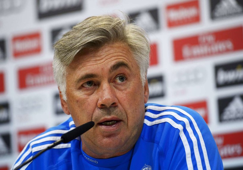 Trener Realu Madryt Carlo Ancelotti /AFP