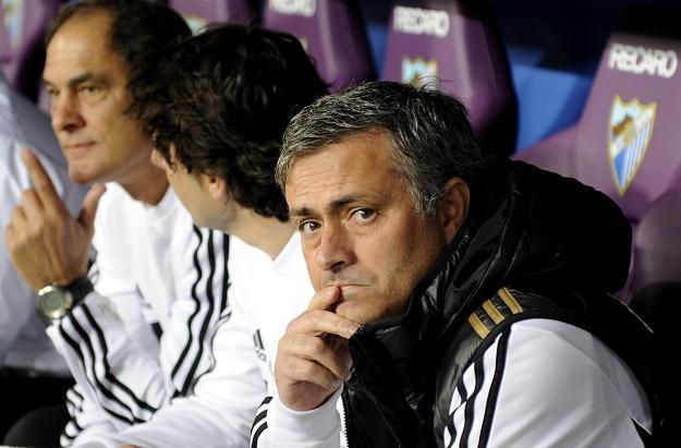 Trener Realu Madryt Jose Mourinho traci zaufanie fanów Realu Madryt /AFP