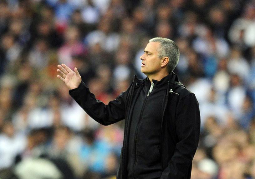 Trener Realu Madryt Jose Mourinho /AFP