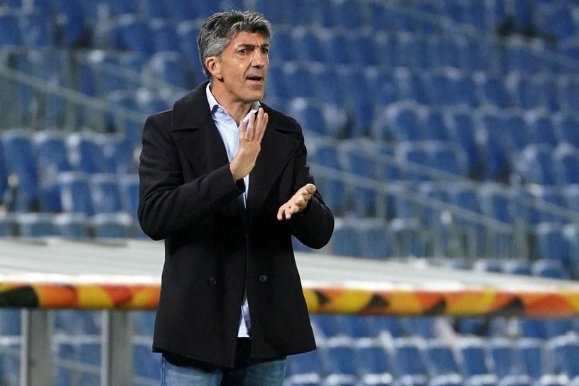 Trener Realu Sociedad Imanol Alguacil /AFP