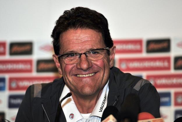Trener reprezentacji Anglii - Fabio Capello. /AFP