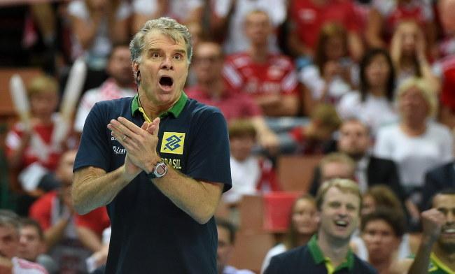 Trener reprezentacji Brazylii Bernardo Rezende /PAP/Bartłomiej Zborowski /PAP