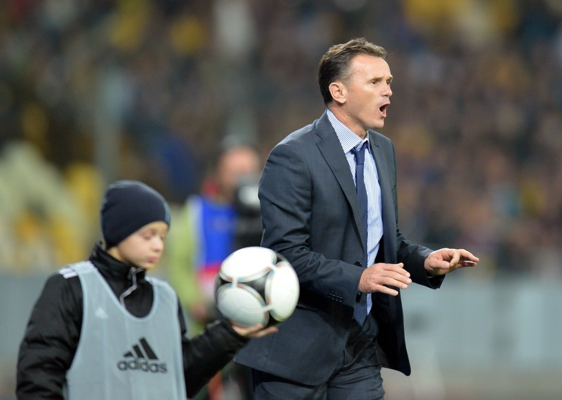 Trener reprezentacji Czarnogóry Branko Brnovic /AFP