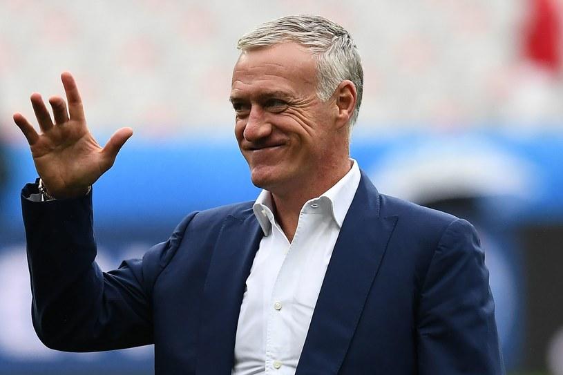 Trener reprezentacji Francji Didier Deschamps /AFP
