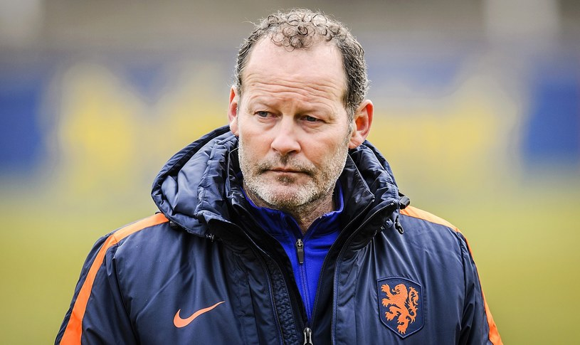 Trener reprezentacji Holandii Danny Blind /AFP