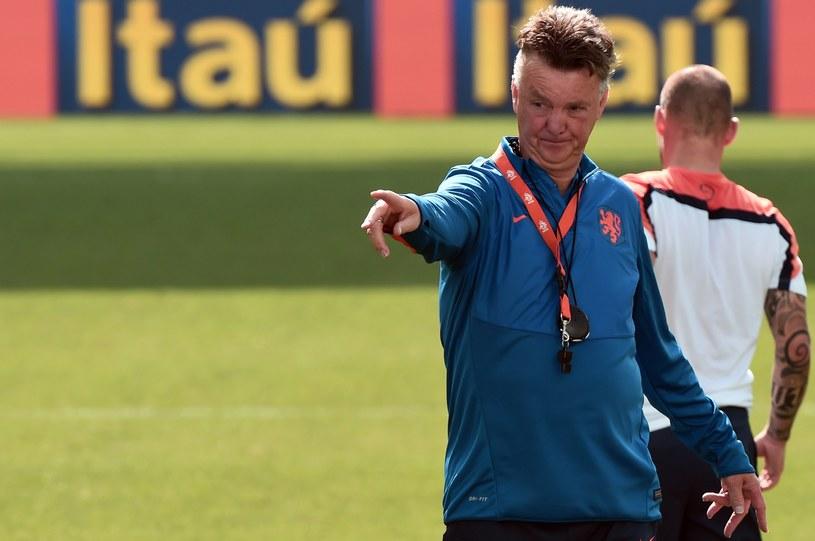 Trener reprezentacji Holandii Louis van Gaal /AFP