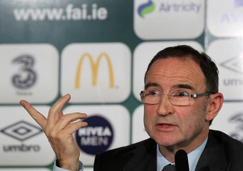 Trener reprezentacji Irlandii Martin O'Neill /AFP