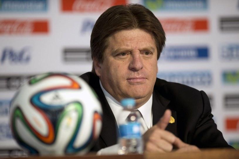 Trener reprezentacji Meksyku Miguel Herrera /AFP