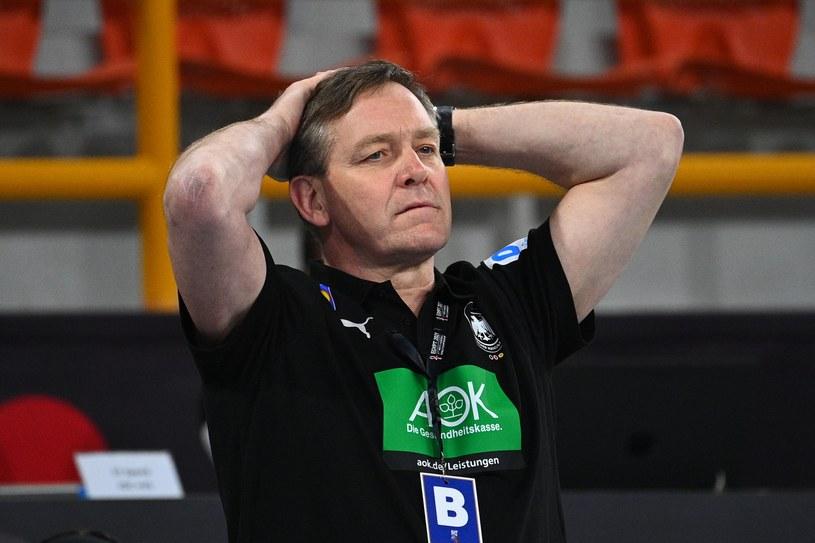 Trener reprezentacji Niemiec Alfred Gislason /AFP