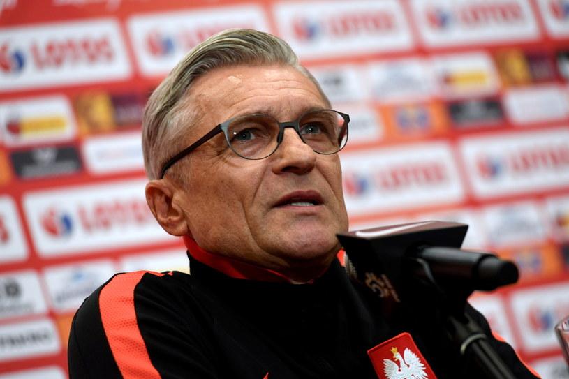 Trener reprezentacji Polski Adam Nawałka /Fot. Bartłomiej Zborowski /PAP