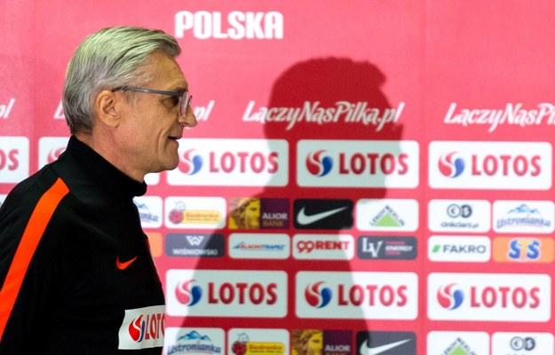 Trener reprezentacji Polski Adam Nawałka / Andrzej Grygiel /PAP