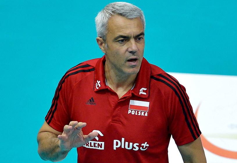 Trener reprezentacji Polski Andrea Anastasi /Adam Warżawa /PAP