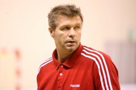Trener reprezentacji Polski Bodgan Wenta Fot. Tomasz Markowski /Agencja Przegląd Sportowy