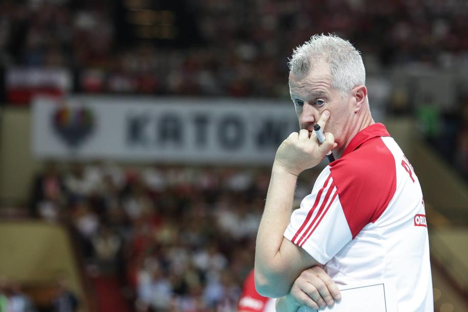 Trener reprezentacji Polski Heynen Vital /Dominik Gajda /PAP