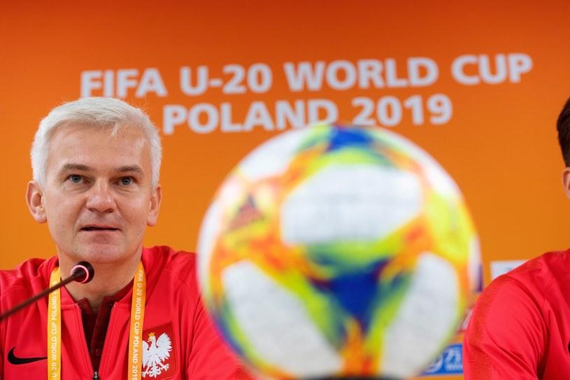 Trener reprezentacji Polski Jacek Magiera /Grzegorz Michałowski /PAP