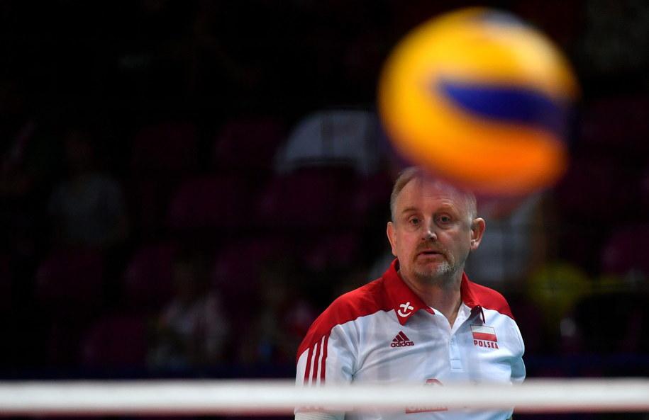 Trener reprezentacji Polski Jacek Nawrocki / Jacek Nawrocki /PAP