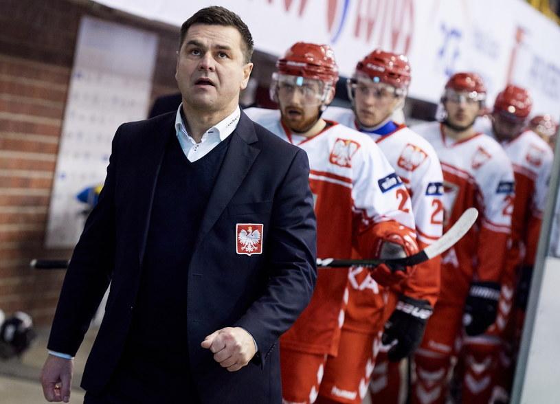 Trener reprezentacji Polski Jacek Płachta /Adam Warżawa /PAP
