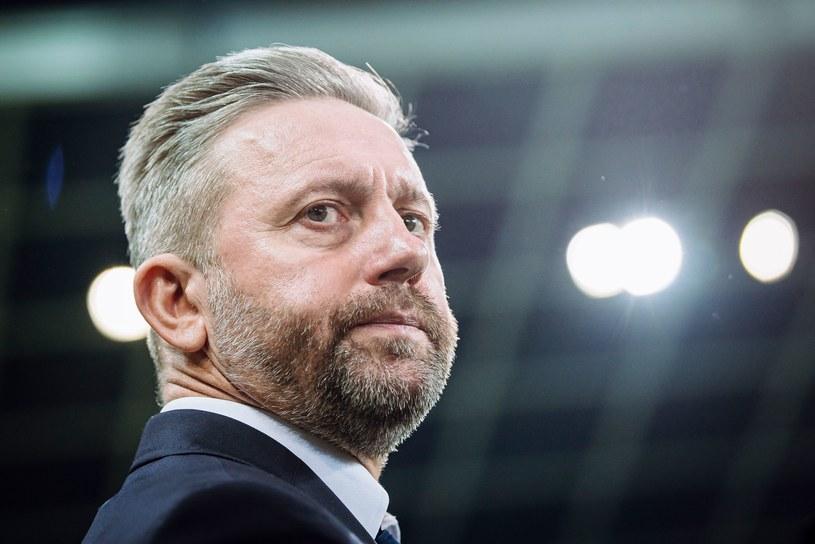Trener reprezentacji Polski Jerzy Brzęczek /AFP