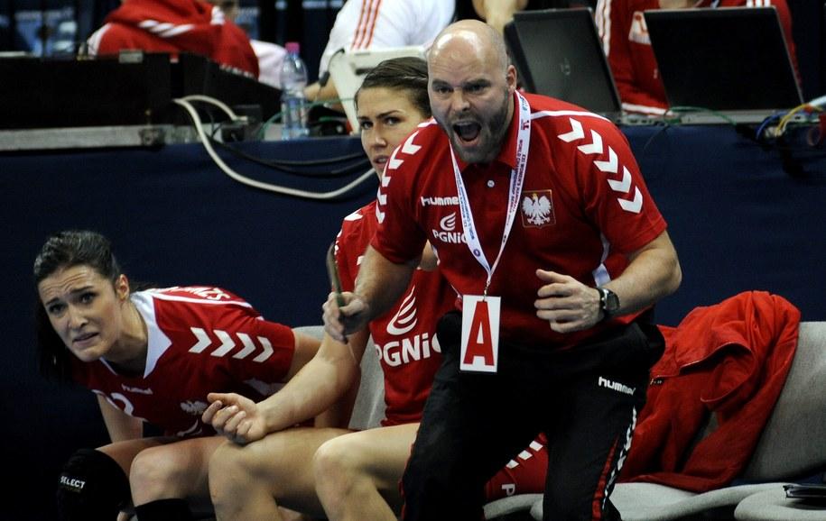 Trener reprezentacji Polski Kim Rasmussen /GEORGI LICOVSKI /PAP/EPA