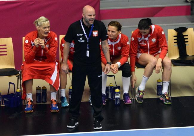 Trener reprezentacji Polski Kim Rasmussen /Marcin Bielecki /PAP