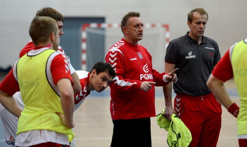 Trener reprezentacji Polski Michael Biegler /PAP