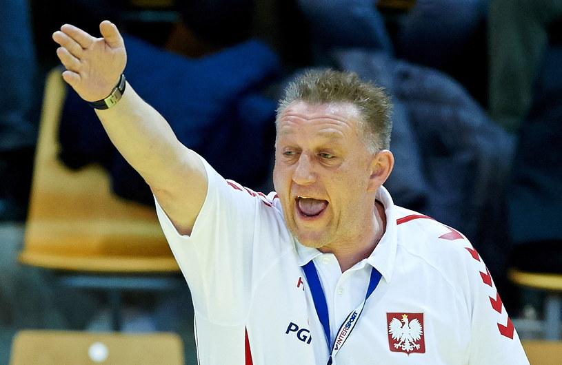 Trener reprezentacji Polski Michael Biegler /Adam Warżawa /PAP