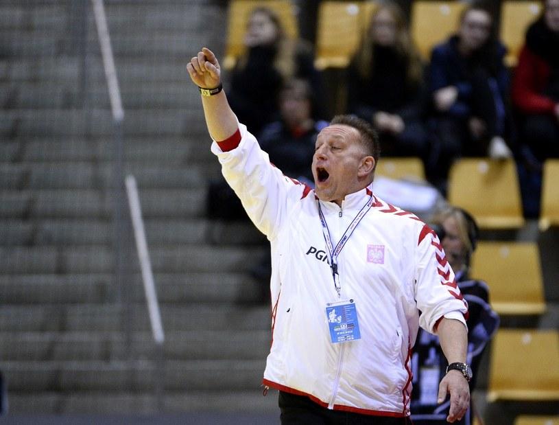 Trener reprezentacji Polski Michael Biegler /AFP